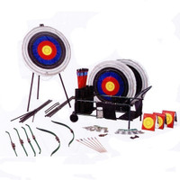 Bear Archery All-In-One Archery Set w/ Cart