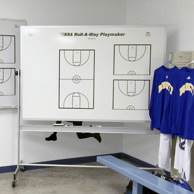KBA Roll-A-Way Basketball Playmaker Magnetic Dry Erase Coaching Board