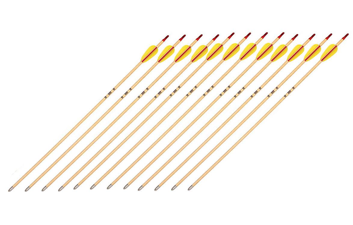 Bear Wood Shaft Arrows - 1/2 Gross