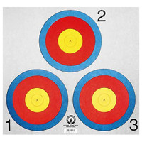Martin Archery Vegas 3-Spot Target Face Set
