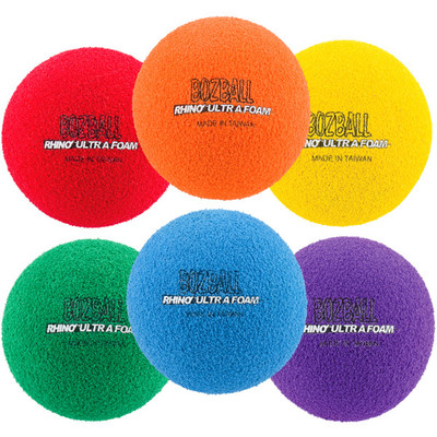 Rhino Foam No-Bounce 3'' Foam Balls Set