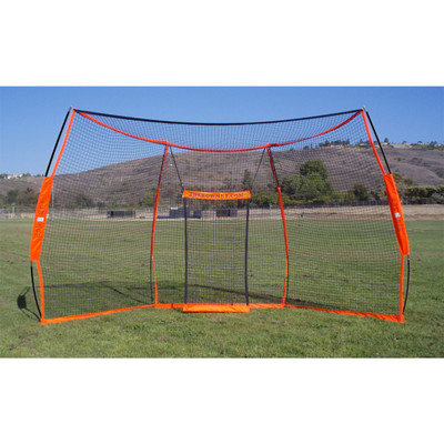 The Bownet Portable Baseball Backstop