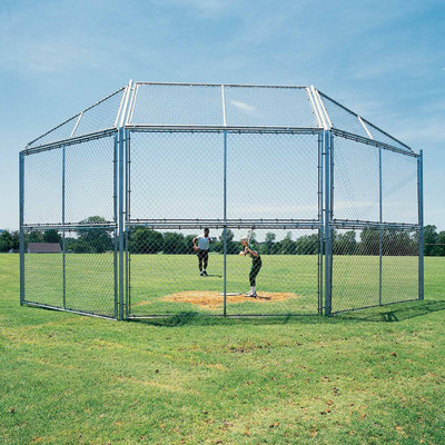 Chain Link Baseball Backstops