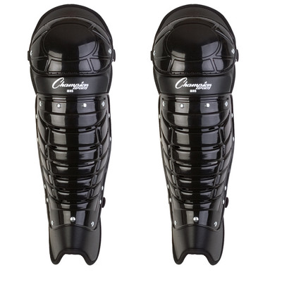 Champion Sports Single Knee Umpire Shinguards