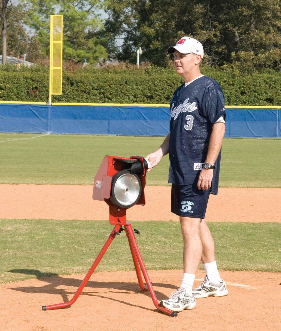 Bulldog Baseball - Softball Pitching Machine
