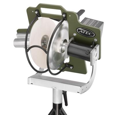 Atec R2 Training Pitching Machine on CaddyPod