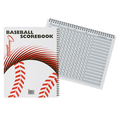 Champion Sports Baseball Scorebook