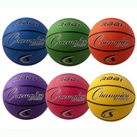 Champion Sports Rubber Basketball Set RBB1