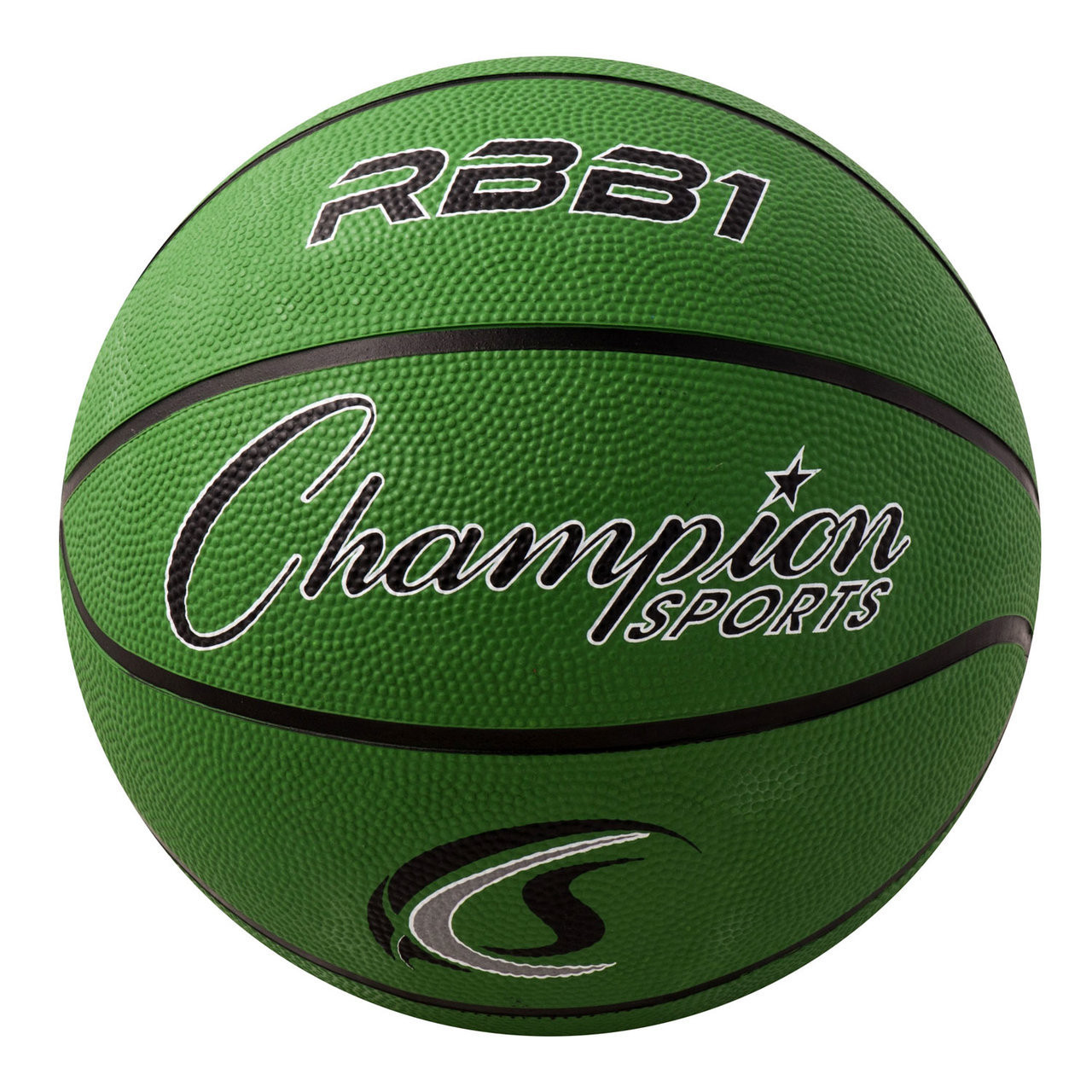Champion Sports RBB2RD Junior Rubber Basketball 27.5 Red
