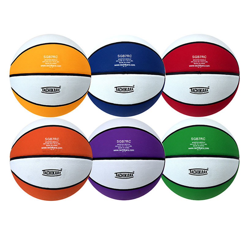 Tachikara Colored Rubber Basketball Sets
