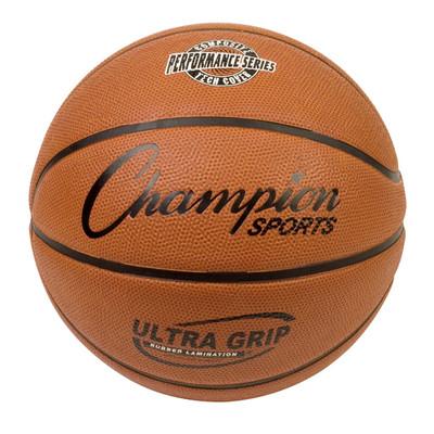 Champion Sports Ultra Grip Rubber Basketball