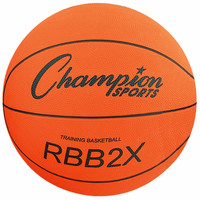 Champion Sports Oversized Rubber Training Basketball