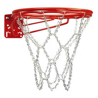 Bison Front Mount Double Rim Goal with Chain Net