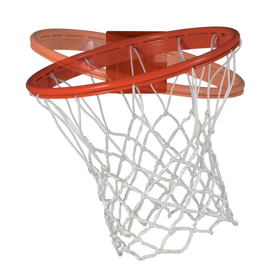 Bison Baseline Breakaway Basketball Goal