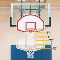 Bison 6-N-1 Adjustable Youth Basketball Goal