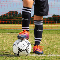 Champion Sports Sock-Style Shin Guards