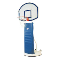 Bison Sports Rollaway Adjustable Basketball Goal