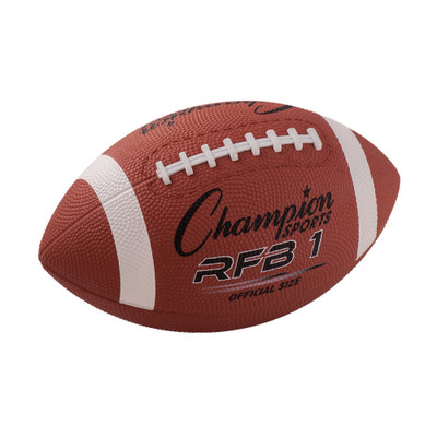 Champion Sports Rubber Football
