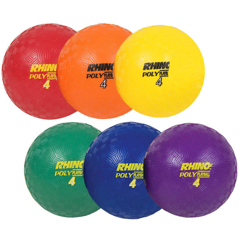 Champion Sports Rhino Poly Playground Ball Set
