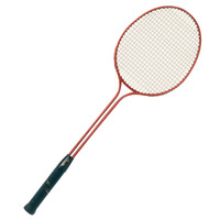 Champion Sports Twin-Shaft Steel Badminton Racket