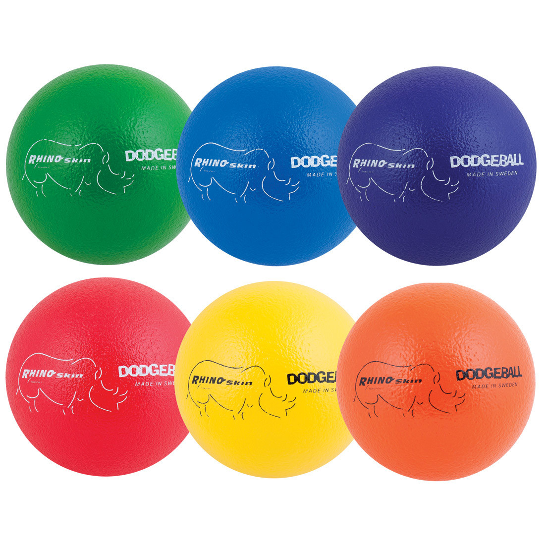 """Rhino Skin 7"""" Dodgeball Set"""