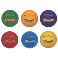 Champion Sports Super Squeeze Rainbow Volleyball Set (SQVSET)