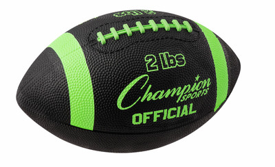 Champion Sports Weighted Football Trainer