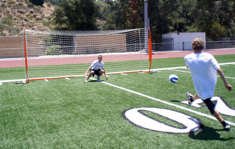 Bownet 6' 6'' x 18' Portable Soccer Goal