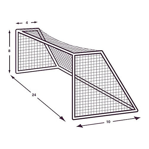 Champion Sports All Weather Soccer Nets - 3.0mm
