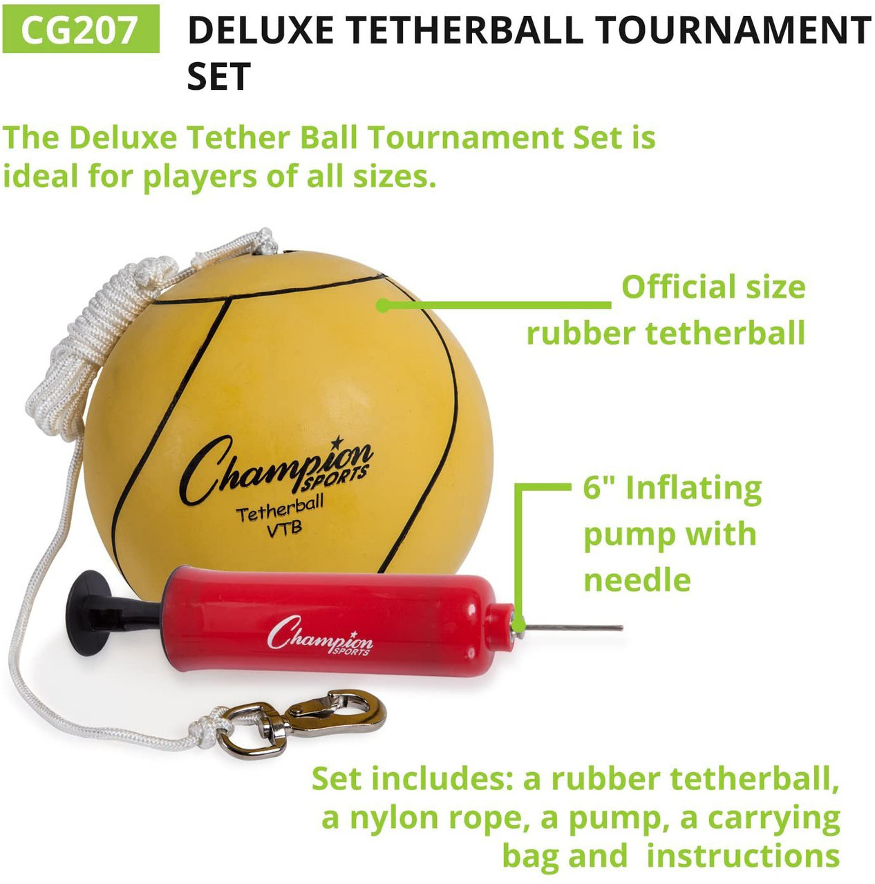 Champions Series Tetherball Set