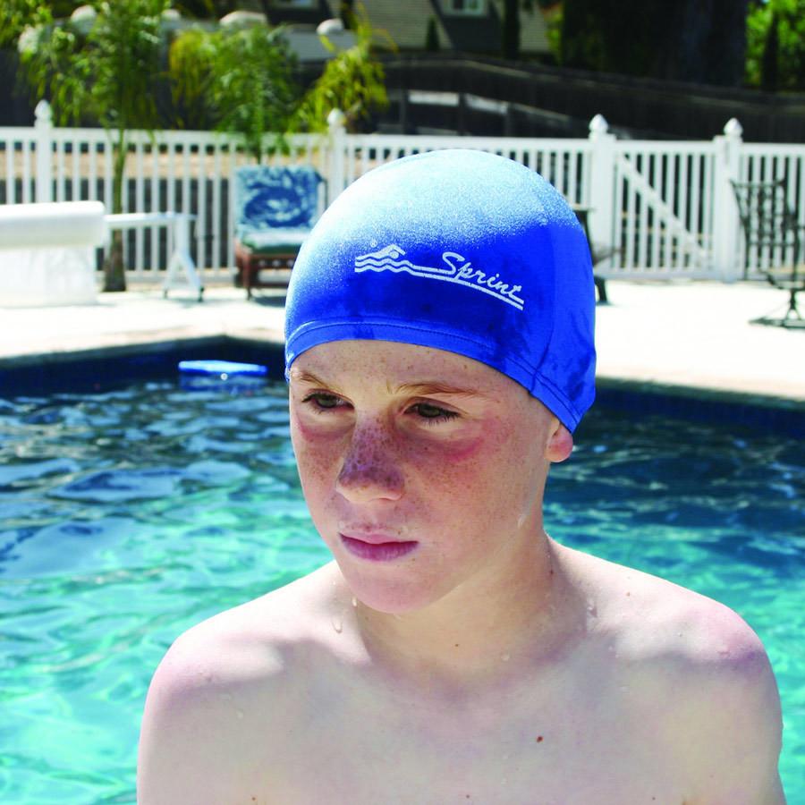 Sprint Childrens Lycra Swim Caps