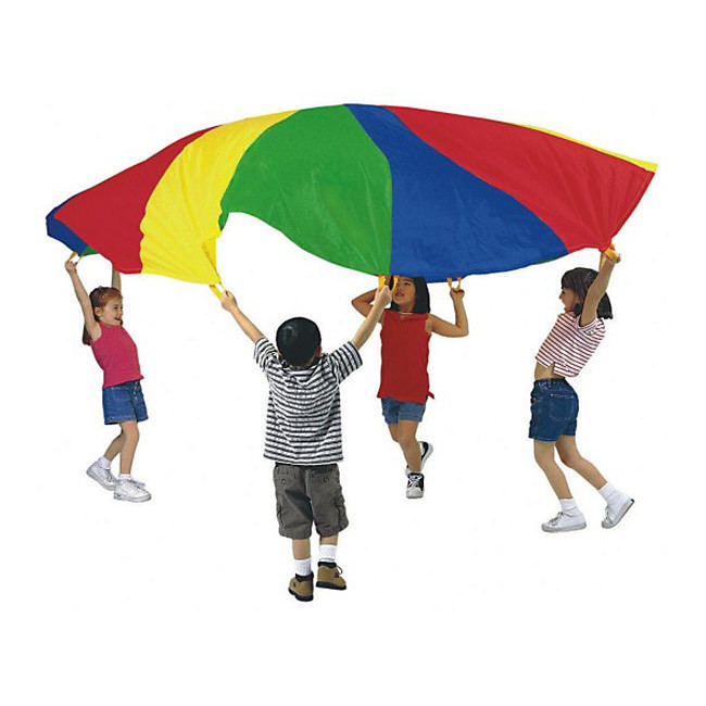 Champion Sports Multi-Colored Nylon Parachute