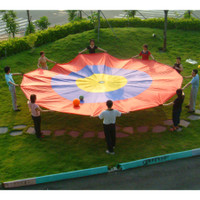 Bulls-Eye 12' Nylon Parachute