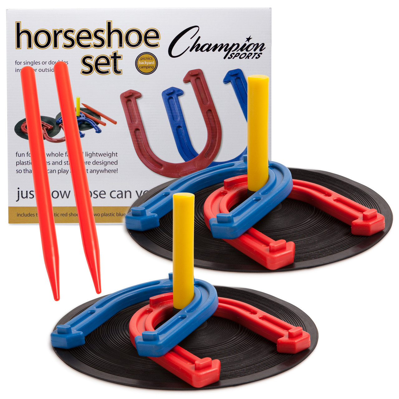 Champion Sports Indoor / Outdoor Horseshoe Set