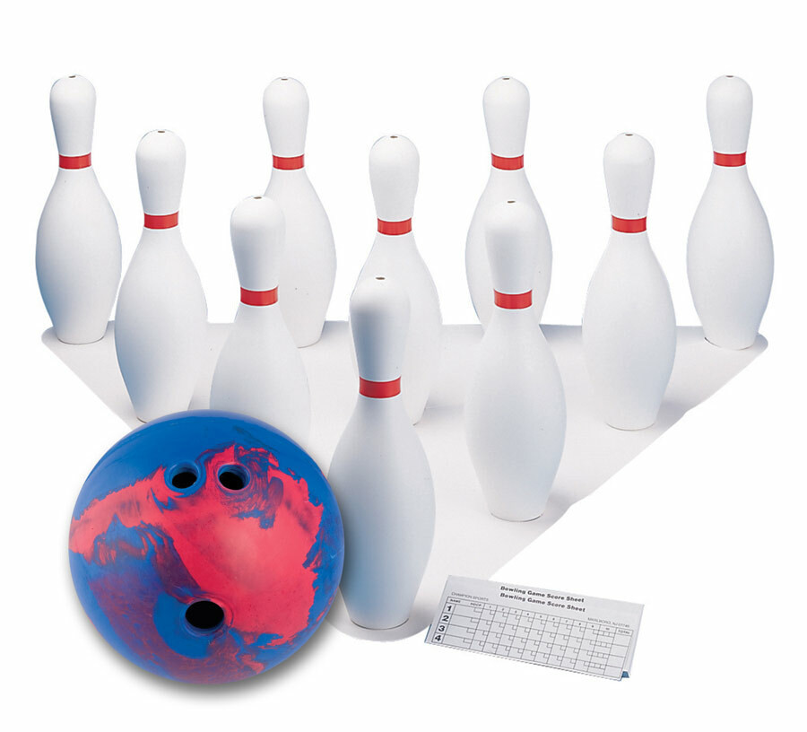 Champion Sports Deluxe Bowling Set