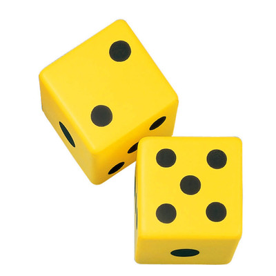 Champion Sports Coated Foam Dice