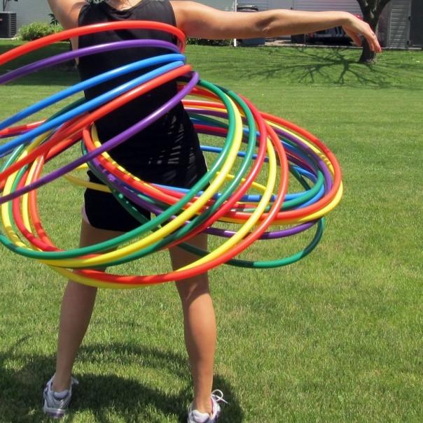 Champion Sports Hula Hoop Set