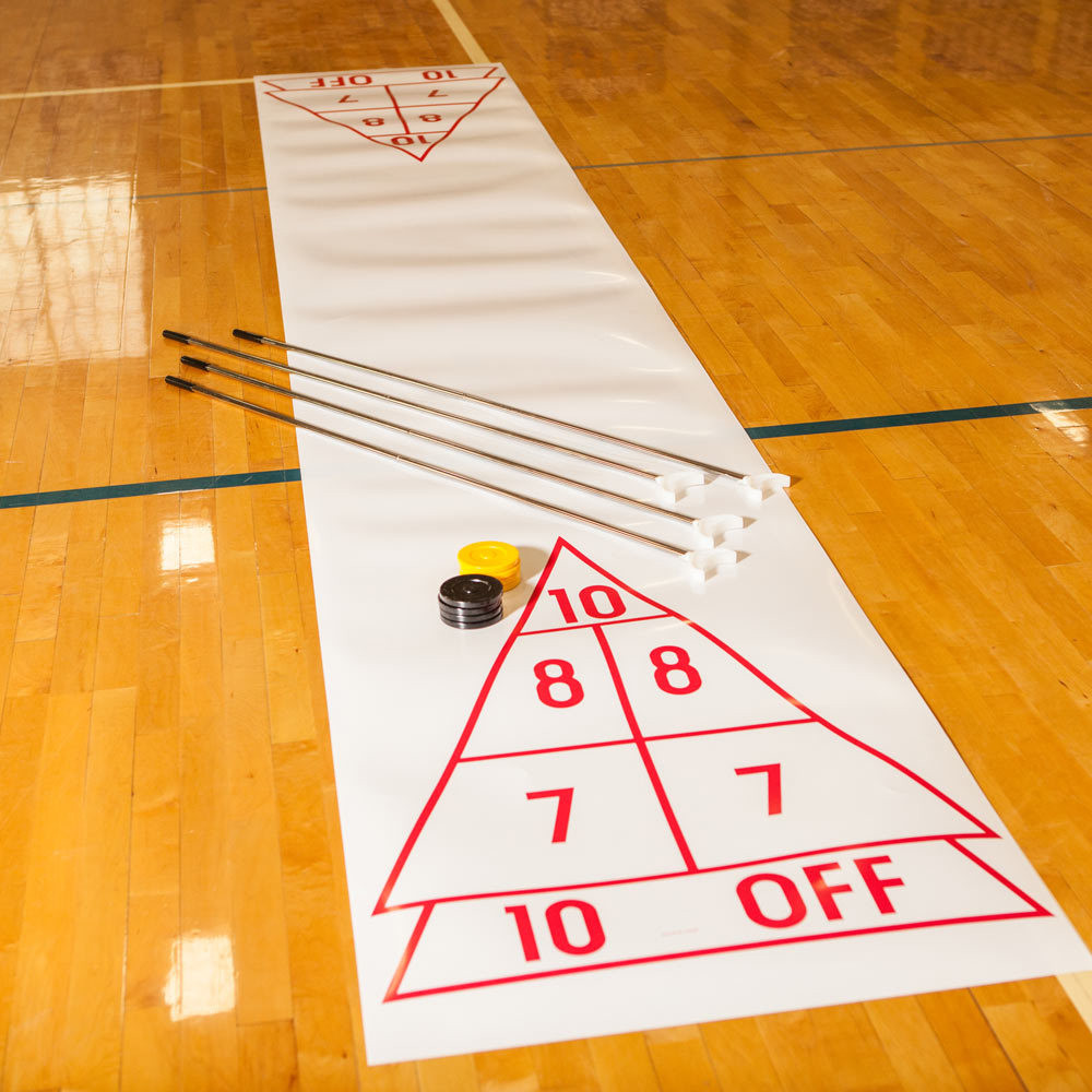 Champion Sports Economy Shuffleboard Set with Court