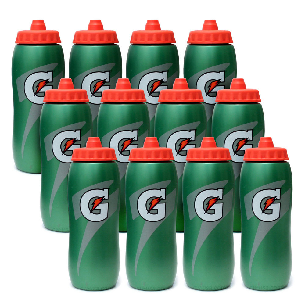 Water Bottle Set: Gatorade Water Bottle Set Of 12