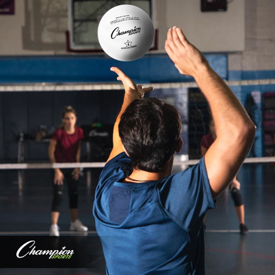 Champion Sports Rubber Volleyball (VR4)