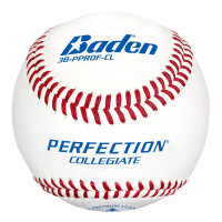 Baden Perfection Collegiate Flat Seam Baseballs - Dozen