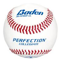 Baden Perfection Collegiate Flat Seam Baseballs - Dozen
