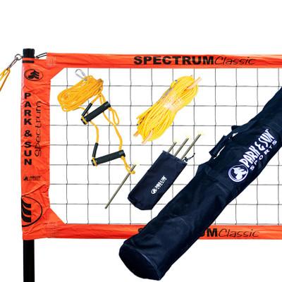 Park & Sun Spectrum Classic Outdoor Volleyball Net System