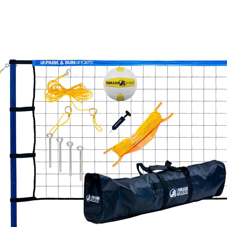 Spiker Sport Steel Outdoor Volleyball Net System