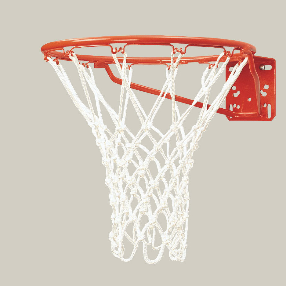 Bison Standard Front Mount Competition Basketball Goal w/ Net