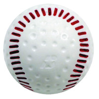 Baden Seamed Pitching Machine Training Baseballs - Dozen