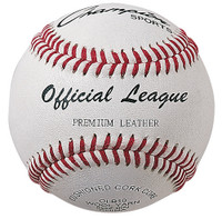 Champion Sports Little League Leather Baseballs