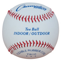 Champion Sports Indoor / Outdoor Tee Ball Baseballs