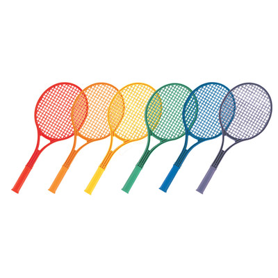 Champion Sports Plastic Tennis Racket Set