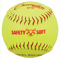 Champion Sports ST Safety Softballs - Dozen